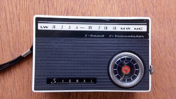 Rádio Antigo Signal Mw E Lw Russo