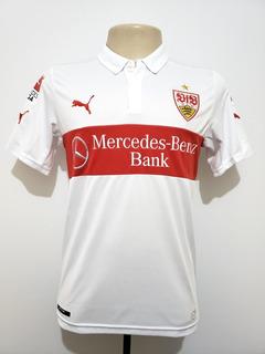 Camisa Futebol Oficial Stuttgart Alemanha 2014 Home Puma P