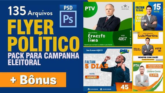 Pack Política Editável - Campanha 2020 (psd)
