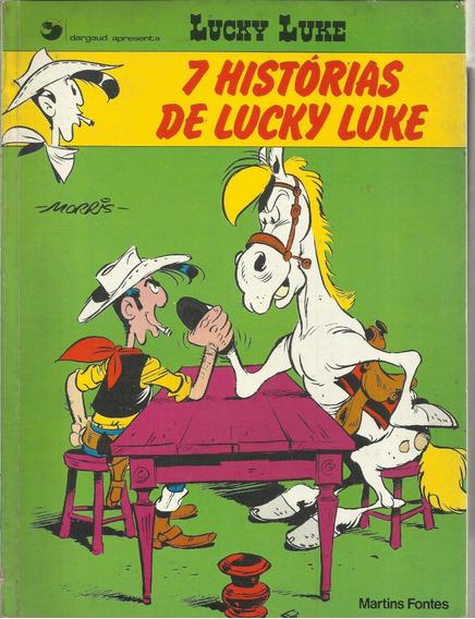 Hq Lucky Luke 7 Historias De Lucky Luke Gosciny Morris 1985