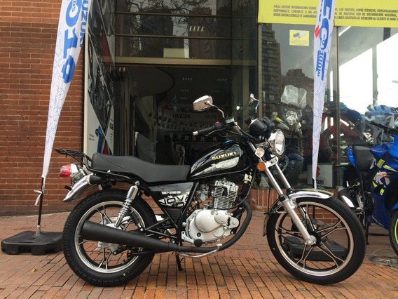 Suzuki Gn 125 Nova 2021 - Financiable