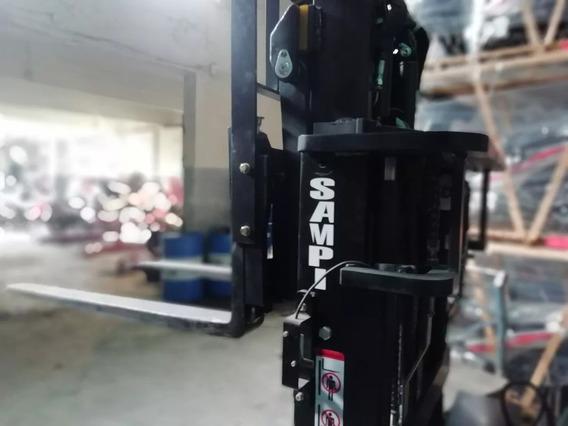 Autoelevador Sampi Apilador Eléctrico Promo