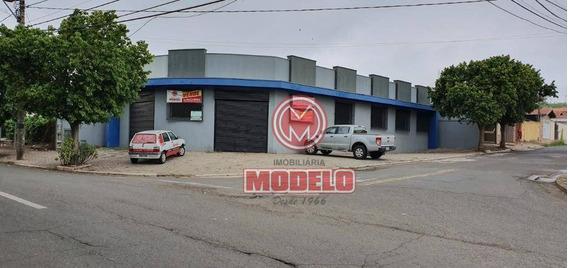 Barracão À Venda, 267 M² Por R$ 620.000,00 - Perdizes - Piracicaba/sp - Ba0243