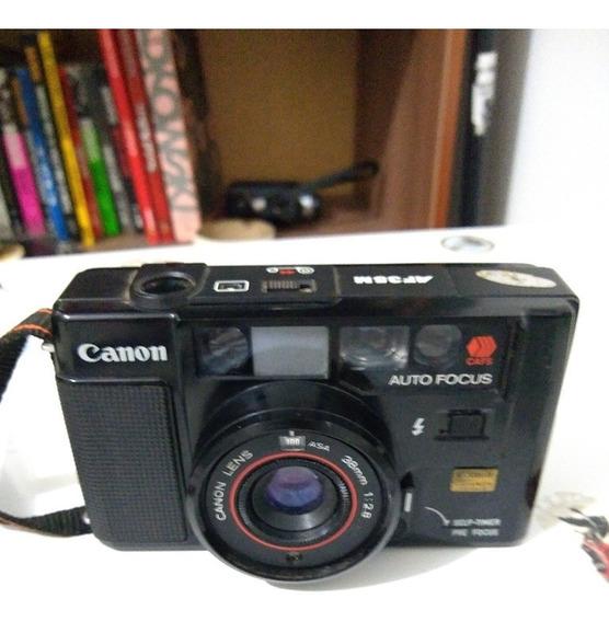 Câmera Fotografica Canon Af35m Auto Focus (no Estado)