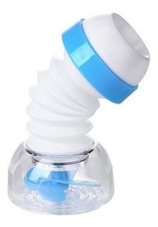Tap Filtro De Agua Azul 360 ° De Rotación