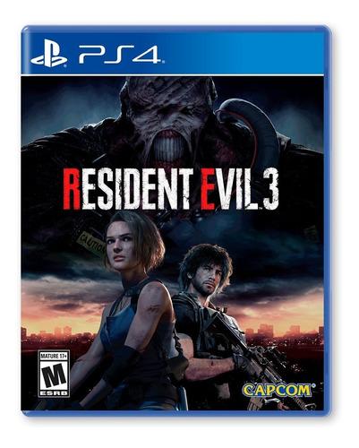 Resident Evil 3 Remake - Playstation 4