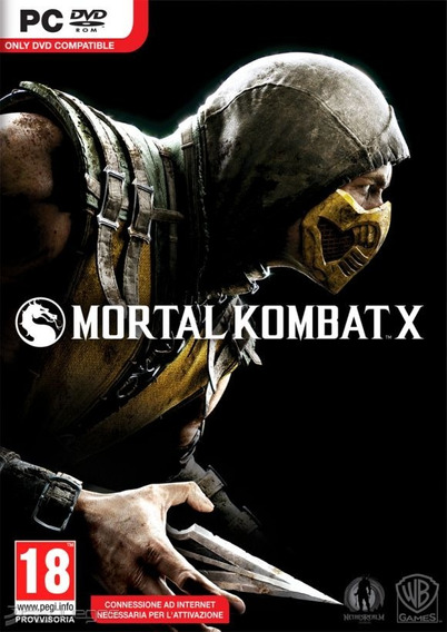 Mortal Kombat X Pc/notebook Original Frete Gratis!