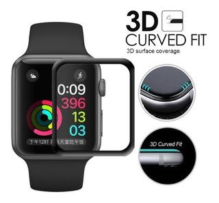 Película 3d Apple Watch Serie 3 42mm Original Curva