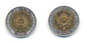 Moneda $1 Bimetálica Argentina 1995 - Sin Circular C/u #2