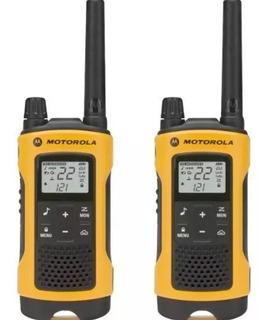 Radio Comunicador T400mc Motorola Talkabout 56km Areia Livre
