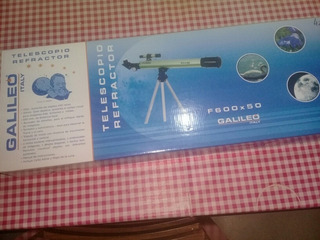 Telescopio Galileo 600x50...