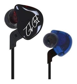 Auricular In Ear De Alta Fidelidad Kz Ed12-mc / Color