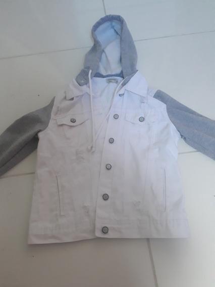 Jaqueta/casaco Com Capuz Retrátil