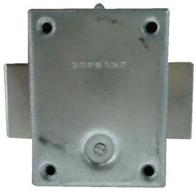 Fechadura Metal Sem Segredo (sem Cilindro) Móveis - Soprano