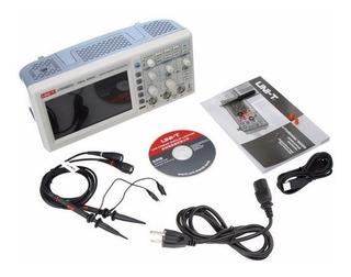 Osciloscopio Digital 50 Mhz 2 Canales Doble Trazo / Uni-t