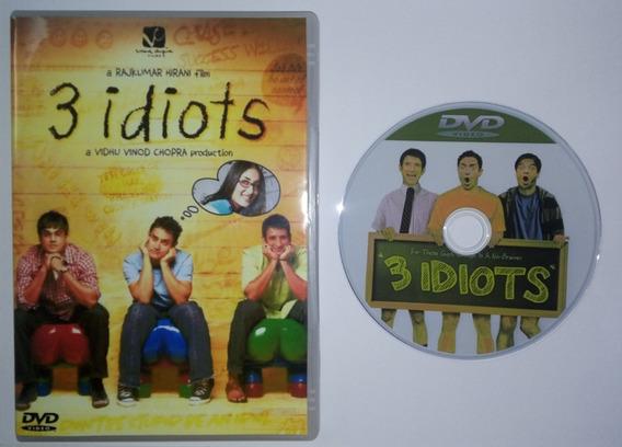 Dvd - 3 Idiotas