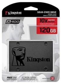 Hd Ssd 120gb Sata 3 Kingston A400 2.5 ( Novo Lacrado )
