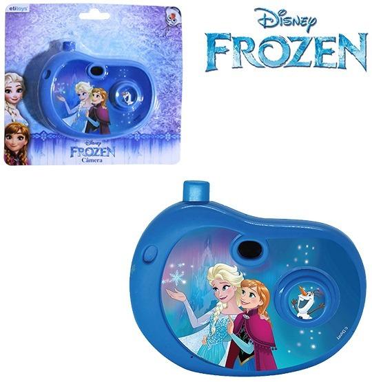 Camera Fotografica Infantil Com Imagem Frozen...