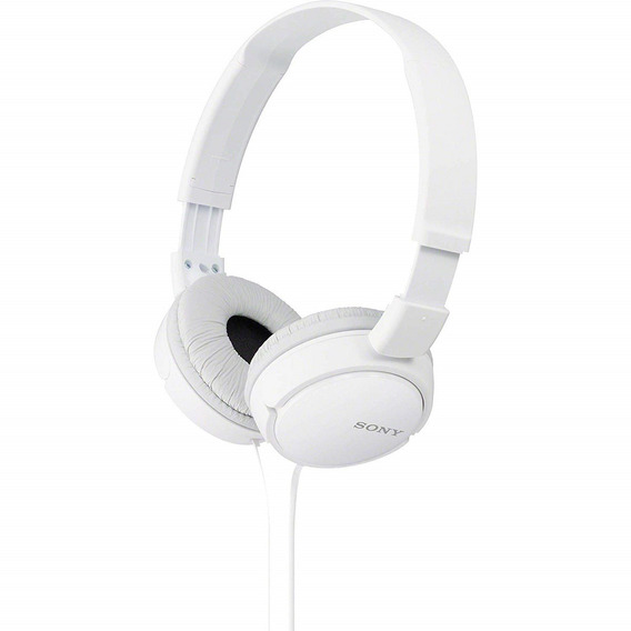 Fone De Ouvido Headphone Original Sony Mdr-zx110 - Branca