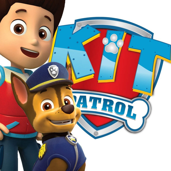 Kit Imprimible Paw Patrol +escudo Editable- Super Completo!