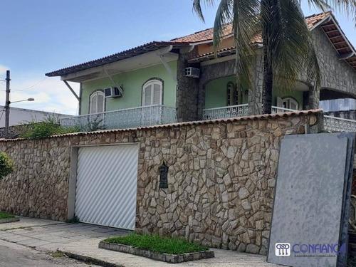 Imagem 1 de 13 de Casa Com 3 Dormitórios Para Alugar, 185 M² Por R$ 5.000,00/mês - Campo Grande - Rio De Janeiro/rj - Ca1893