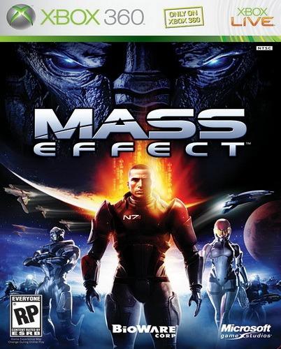 Mass Effect Xbox 360 Nuevo Y Sellado Juego Videojuego