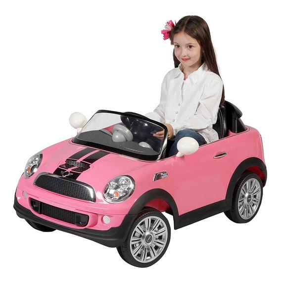 Prinsel Carro Montable Eléctrico Mini Cooper - Rosado