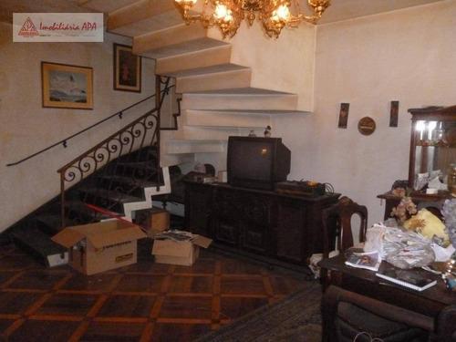 Sobrado Com 3 Dormitórios À Venda, 171 M² Por R$ 700.000 - Barra Funda - São Paulo/sp - So0042