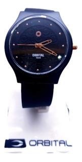 Reloj Orbital Mujer 100 Metros Silicona Local Agente Oficial