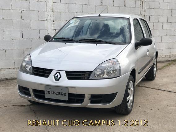 Renault Clio Campus 1.2 2012 5p *financio*recibo Menor*