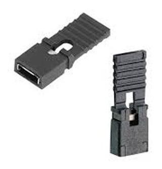 20x Mini Jumper Com Aba Longa Para Cnc Placa Mãe Arduino