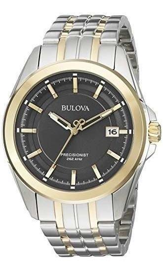 Incrível Relógio Bulova Precisionist 98b273 Aço Top