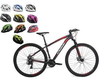Bicicleta Oggi 29 Hacker Sport 2019 Vermelha Frete Grátis