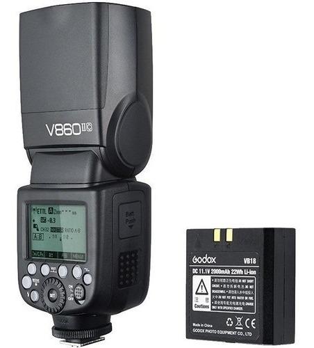 Flash Ving Godox V860 Ii C Para Canon - Lj. Platinum