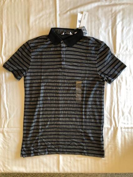 Polo Calvin Klein Camisa Blusa Nova Tamanho P