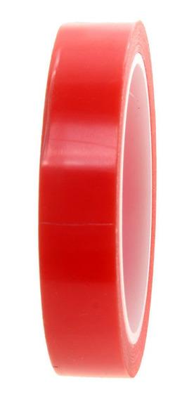 1 Rollo Adhesiva Cinta De Doble Cara 0.8cm 330 Cm De Ancho