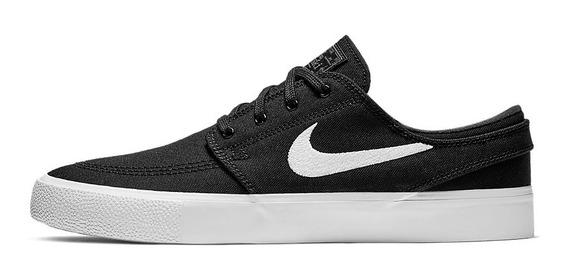 Tênis Nike Sb Stefan Janoski Canvas Rm - Preto