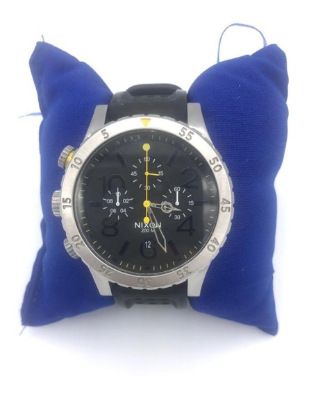 Relógio Nixon Masculino The 48-20 Chrono A486 All Gunmetal