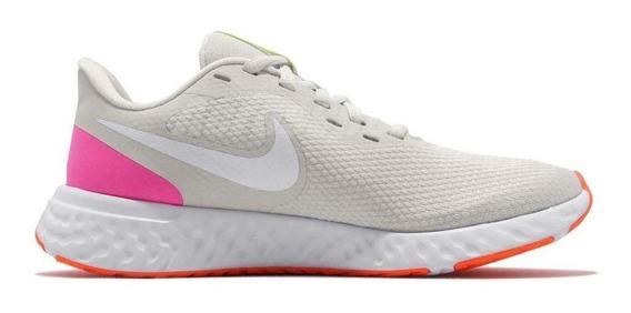 Tênis Running Nike Feminino Revolution 5 Conforto Dia A Dia