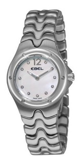 Ebel 9956k21 9811 Sportwave Madredepearl Diamante Dial Reloj