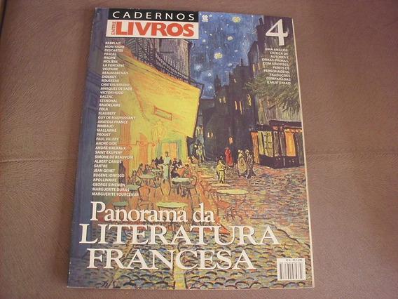 Panorama Da Literatura Francesa 4 Cadernos Entre Livros