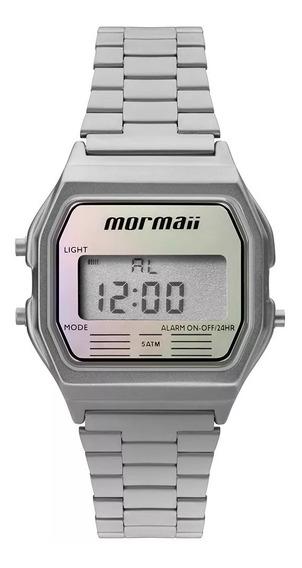 Relógio Mormaii Digital Prata Mojh02aq/3k