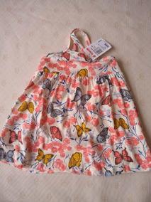 Vestido Infantil Barato, Simples, Verão, Malha, 100% Algodão
