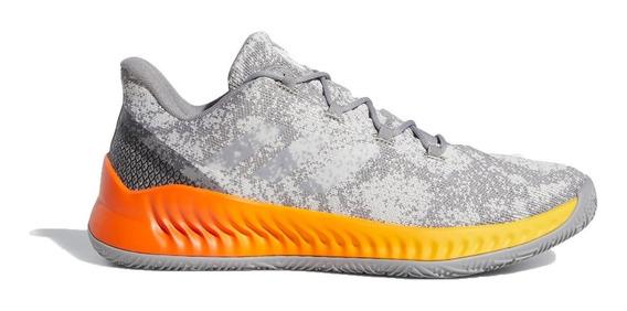 adidas Zapatillas Básquet Hombre Harden B/e X Gris - Naranja