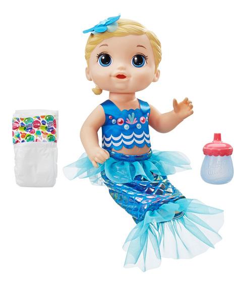 Baby Alive Mi Linda Sirenita Rubia Doll