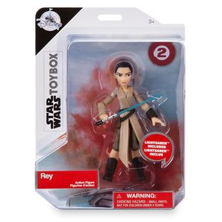 Rey - Star Wars - Articulado - 13cm - Original Disney!!!