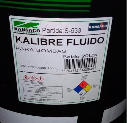 Fluido P/ Calibrar Bombas Inyectoras Kalibre Bal20l Kansaco