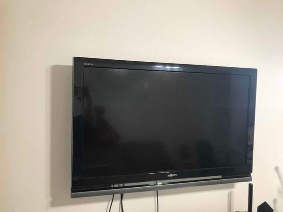 Tv Sony Bravia Suporte De Parede -conversor Digital E Antena