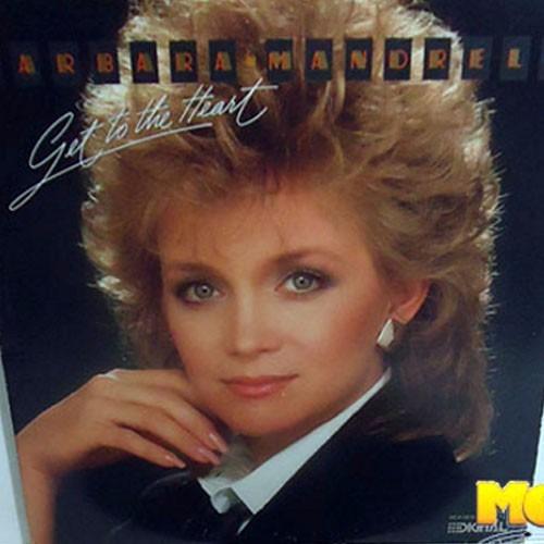 Barbara Mandrell 1985 Get To The Heart Lp Importado Country