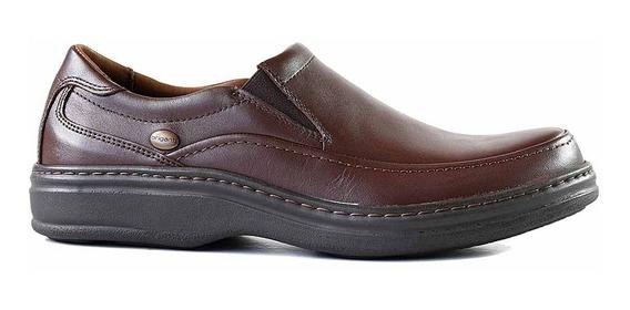 Zapato Cuero Confort Hombre Briganti Mocasin Goma Hccz01107